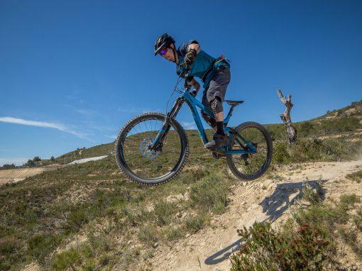 VI quedada colina abajo team, descenso en bici